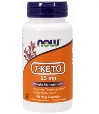 Now - 7-keto 25mg 90vcaps