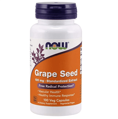 Now - grape seed anti 100mg 100 vcaps