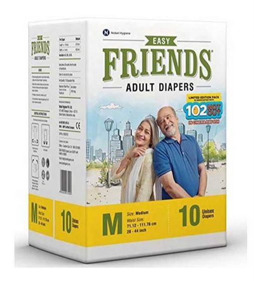 Friends Adult Diapers Easy (M)