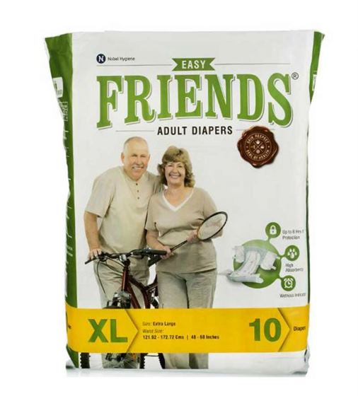Friends Adult Diapers Easy (XL)