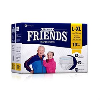 Friends Adult Diapers Pull-Ups (L)
