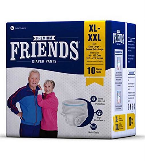 Friends Adult Diapers Pull-Ups (XL)