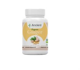 Ancient Nutra Ginger 60 Capsules