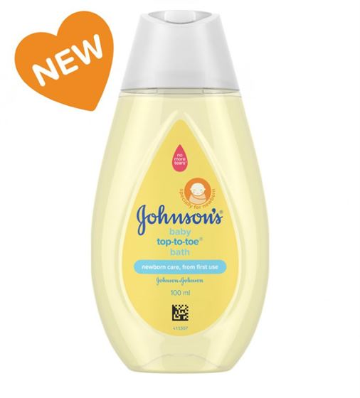 Johnson's Tip To Toe Baby Wash 100ml