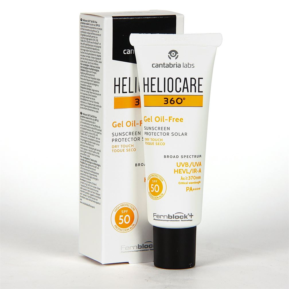 Heliocare 360 Gel Oil-free Dry Touch Spf 50 - 50ml