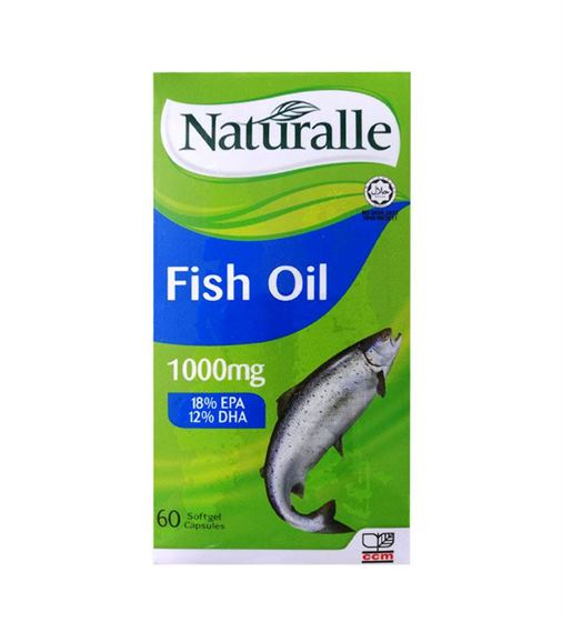 Naturalle Fish Oil 60's