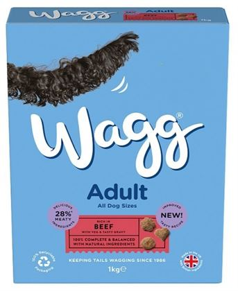 Wagg Adult Beef 1Kg