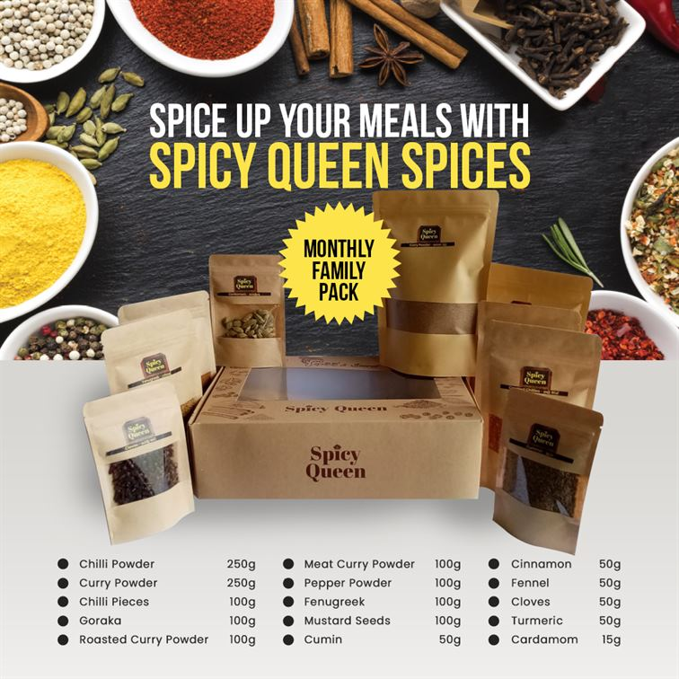 Queen Spices - Family Pack